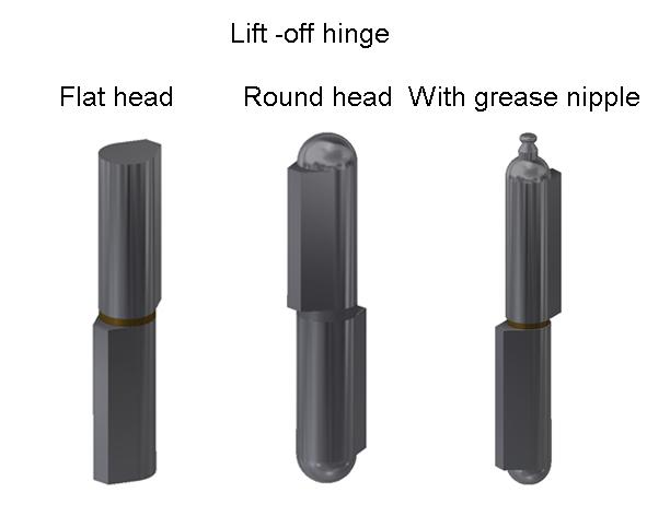Lift -off hinge