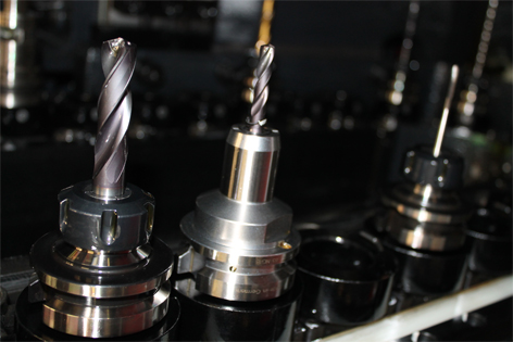 Tools: drills and endmills